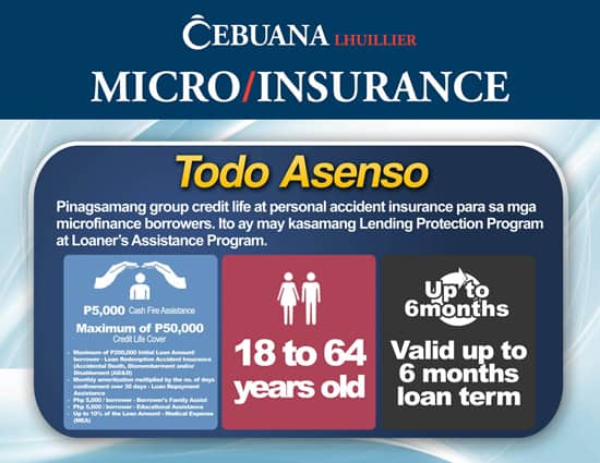 insurance products emailer TODO ASENSO