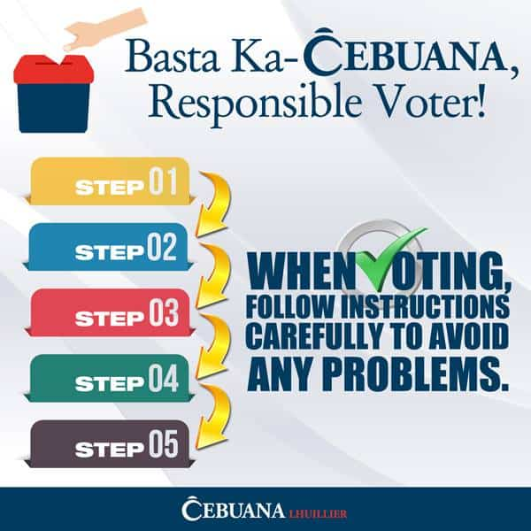 Advisory: Branch schedule on Election Day • Cebuana